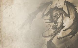 Wallpaper best fantasy dragon woman in the sky