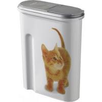 Container à croquettes 1.5 kg Curver modèle chat