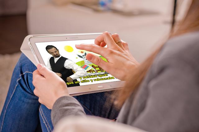 Cuento Platero y yo en lengua de signos española en la app TeCuento