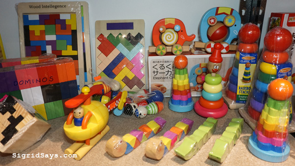 Babyrun baby needs store Bacolod - wooden educational toys