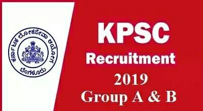 KPSCRecruitment 2019 - 381 Group A & B posts