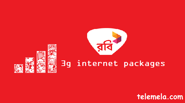 Robi 3G Internet Packages
