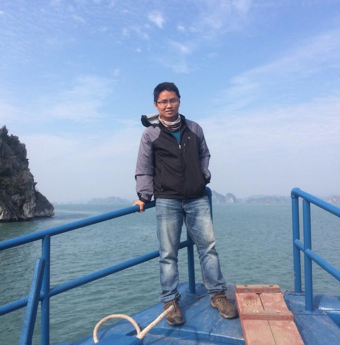 Trên tàu ra đảo Cô Tô
