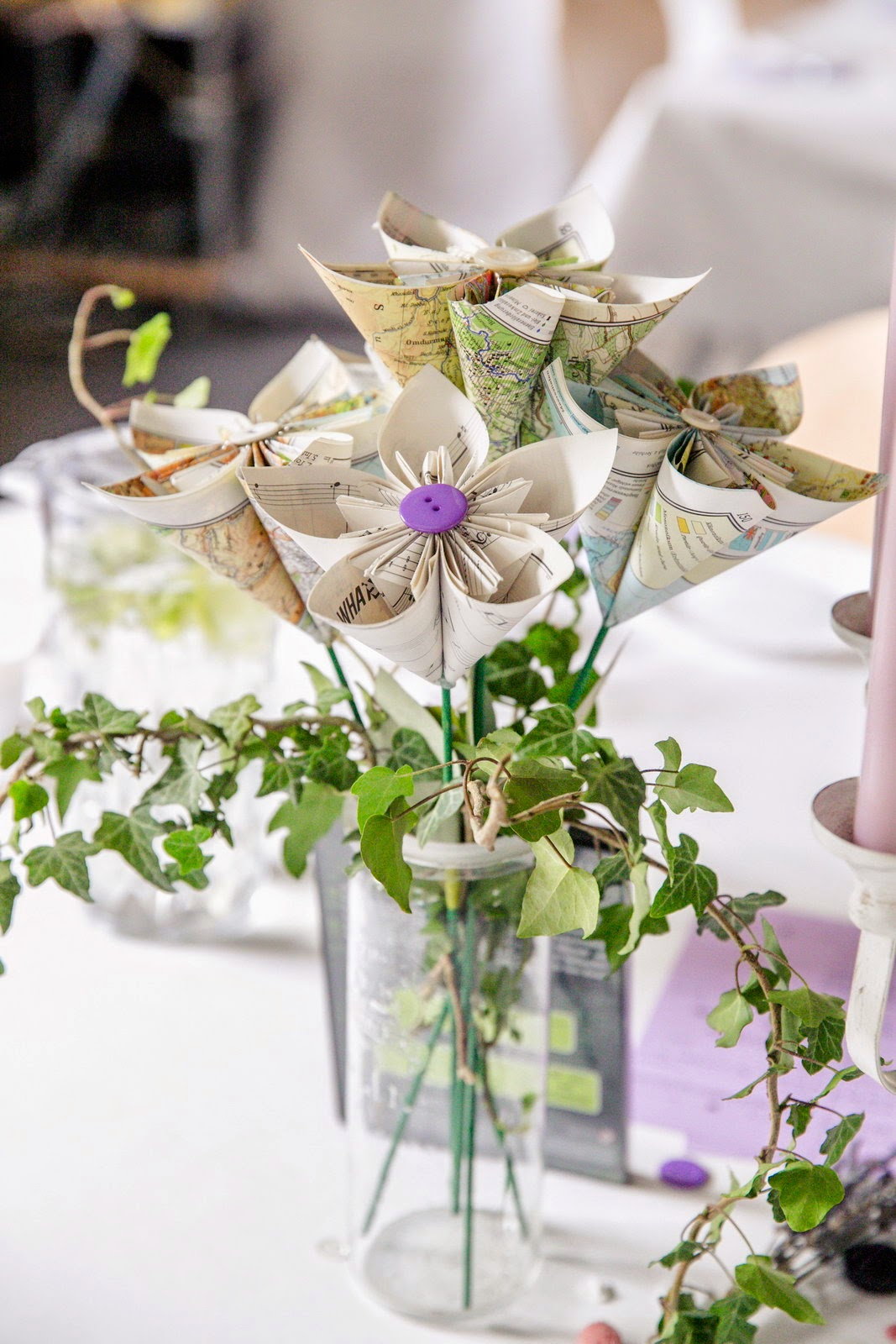 Bazooka Crafts Our Thrifty Crafty Wedding Centerpieces Favors