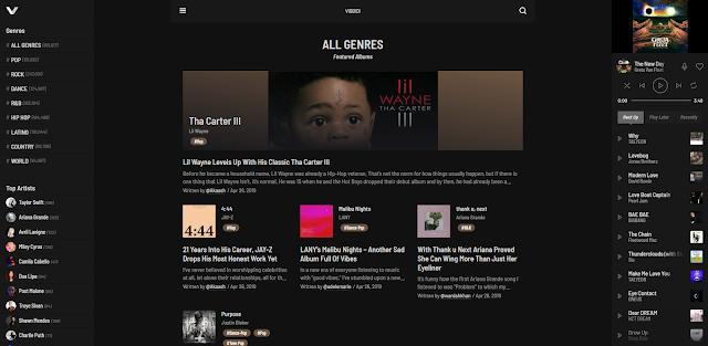 VIBBIDI Homepage