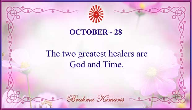 Thought For The Day October 28