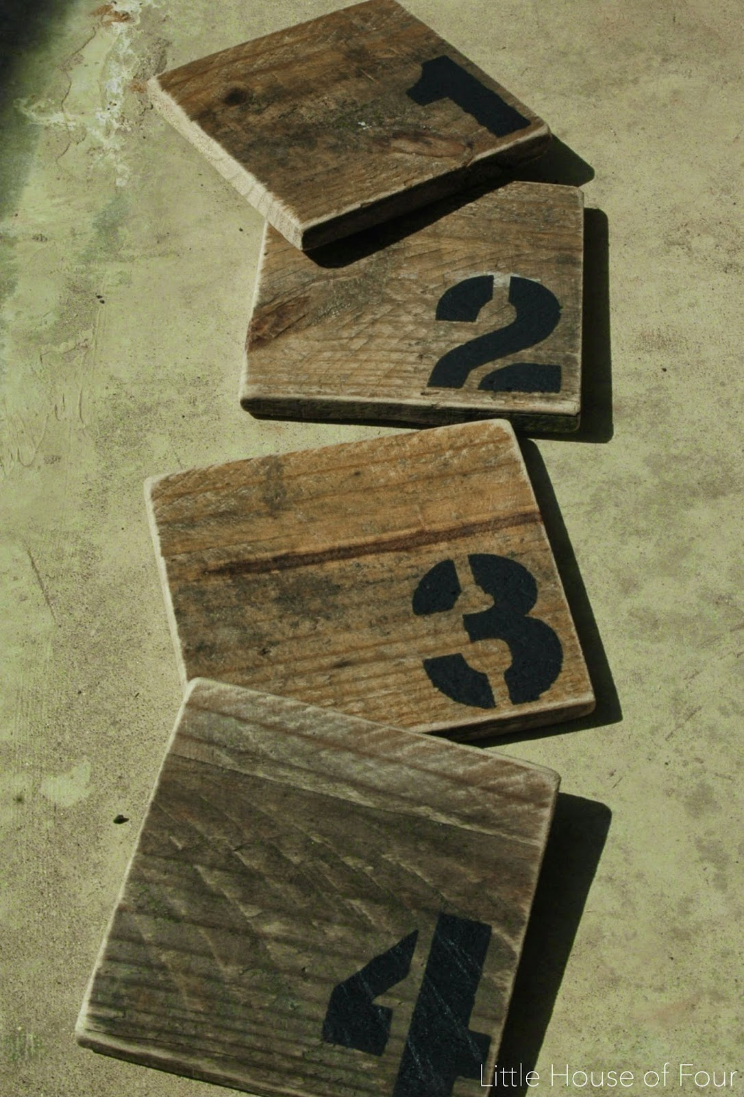 DIY Pallet Coasters   Little House of Four - Creating a ...