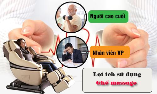 Kết quả hình ảnh cho ghế massage cho người bệnh tim mạch