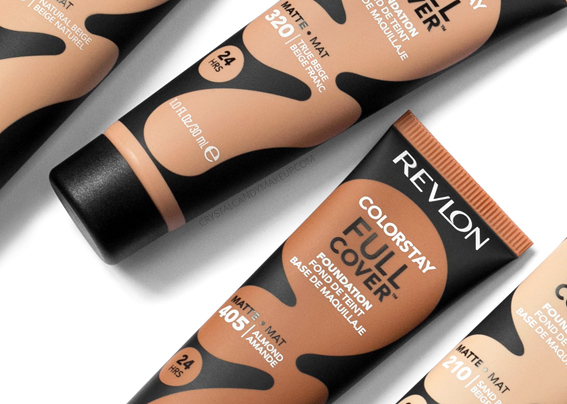 Revlon Colorstay Full Cover Foundation Coverage Oily Skin Matte MAC NW35 NC45