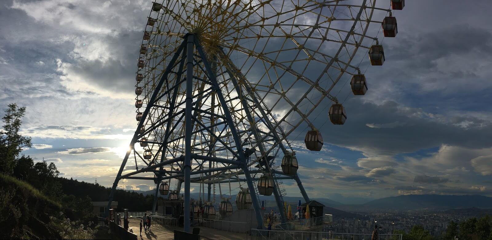 Ferris Wheel at Mtatsminda Park in Georgia