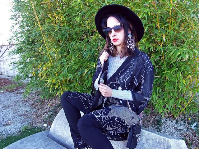 fashion, moda, look, outfit, blog, blogger, walking, penny, lane, streetstyle, style, estilo, trendy, rock, boho, chic, cool, casual, ropa, cloth, garment, inspiration, fashionblogger, art, photo, photograph, Avilés, oviedo, gijón, asturias, hat, jersey, sweater, hervas, salamanca, jeans, vaqueros, kimono, sombrero,