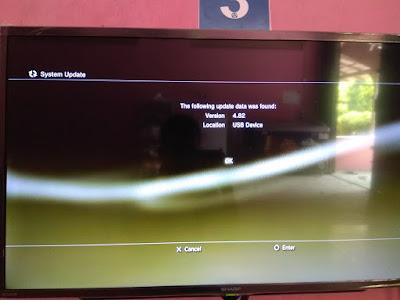 Cara Update PS3 OFW 4.82 Offline 6