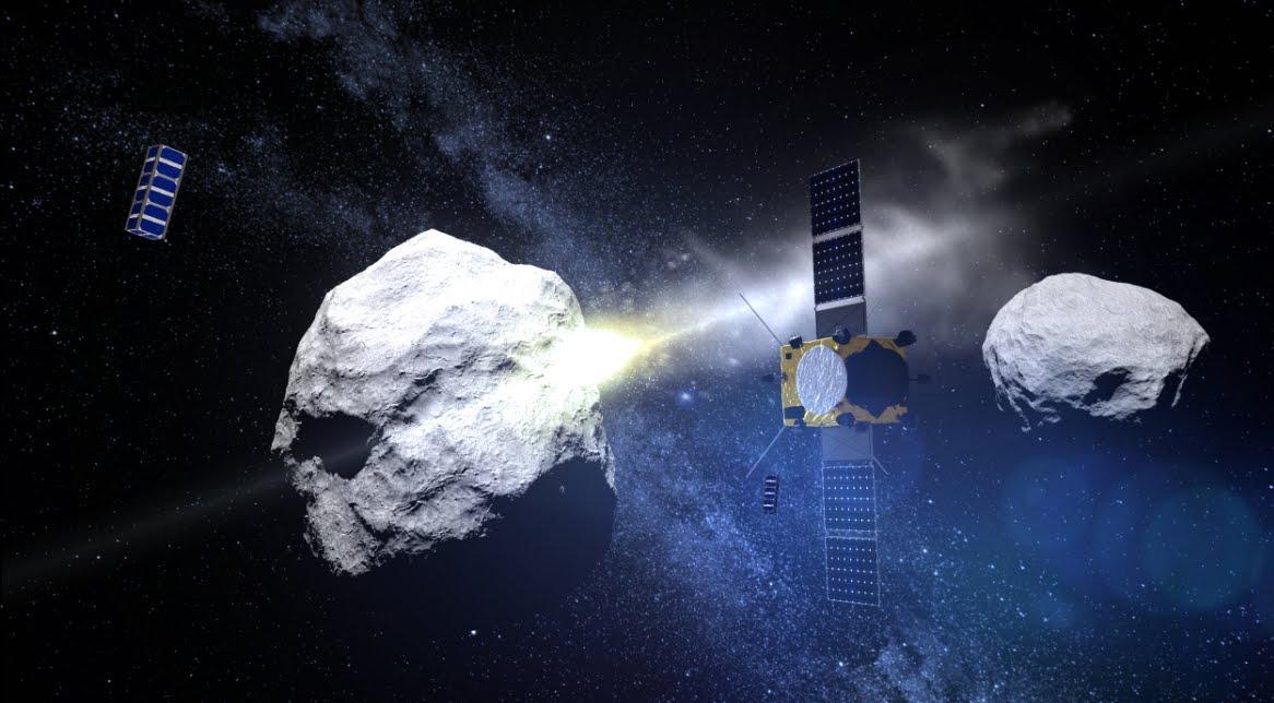 VIDEO NASA pronta all'Armageddon: si deve evitare l'impatto Asteroide (DART).