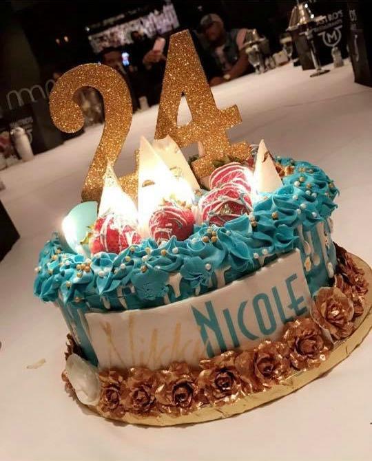 Phor's Girlfriend Nikki Celebrates Her 24th Birthday At Mastro's Steakhouse In Chicago