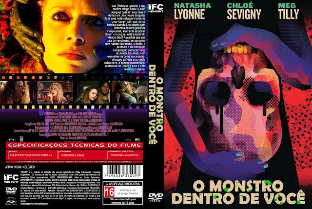 Capa DVD O Monstro Dentro de Você [Custom]
