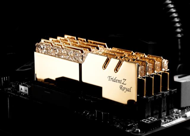 G.Skill Trident Z Royal Series DDR4 Diluncurkan - Memori Sultan kesan premium