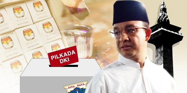 Calon gubernur DKI Jakarta, Anies Baswedan.