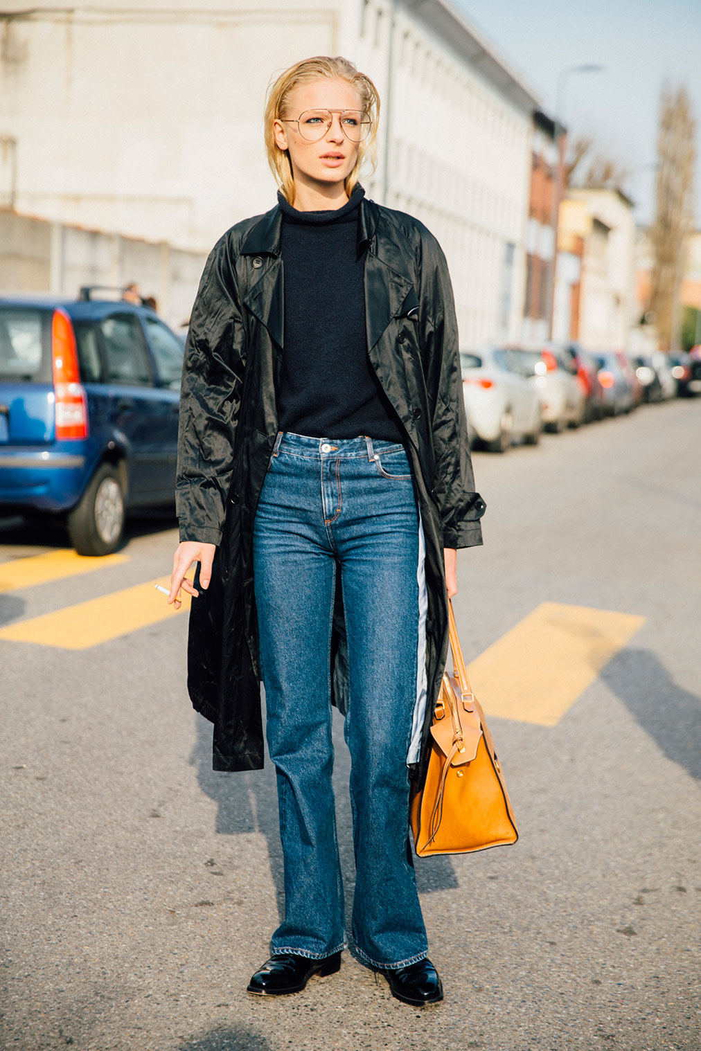 Street Style: Frederikke Sofie's Classic Jeans