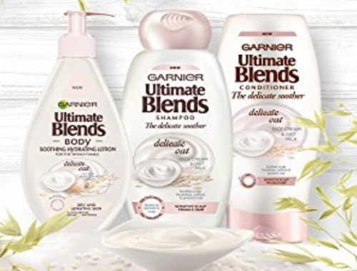 Garnier Free Sample Whole Blends Oat Delicacy