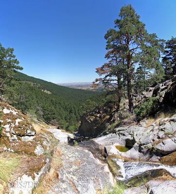 Ruta a la cascada de El Chorro de Navafría (Segovia)