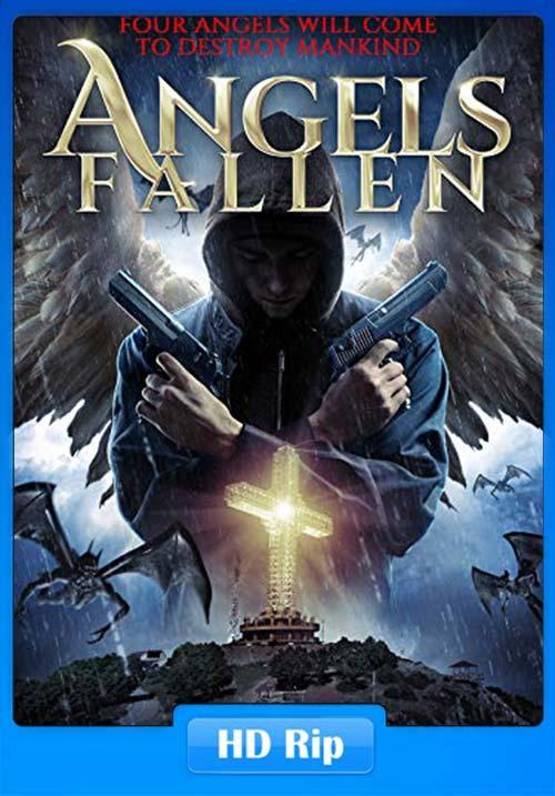 Angels Fallen 2020 720p WEBRip x264   480p 300MB   100MB HEVC