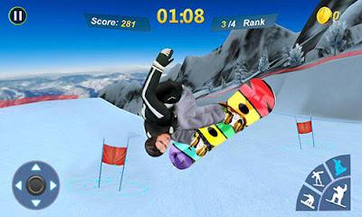 Snowboard Master 3D v1.2 Mod Apk (Money) Terbaru
