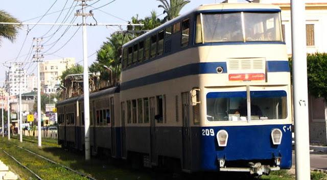 ترام الأسكندرية Alexandria Tram