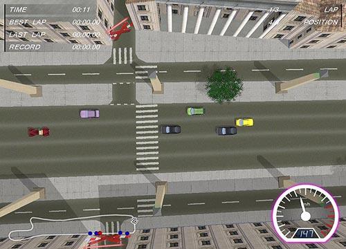 تحميل لعبة سيارات سباق Shortcut Racers للكمبيوتر والاب توب مجانا
