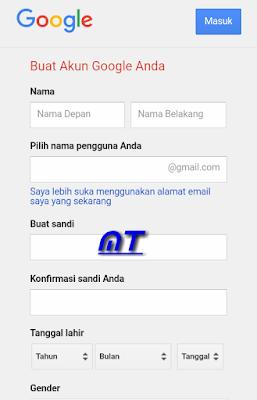 Membuat Email Menggunakan Akun Gmail