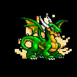 Haut Dragon Haute résolution (Jeune)