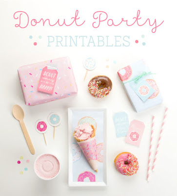 free donut printables,