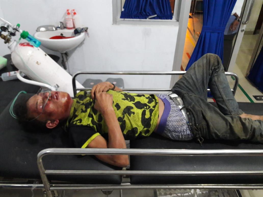 Hendri Jusrianto Nainggolan sekarat dirawat medis