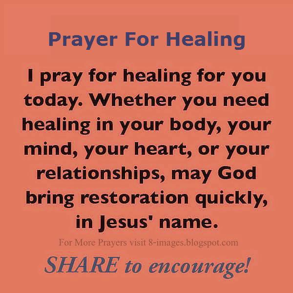 Prayer for healing a relationship