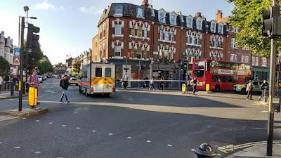 الشرطة البريطانية تغلق محطتي قطارات في لندن