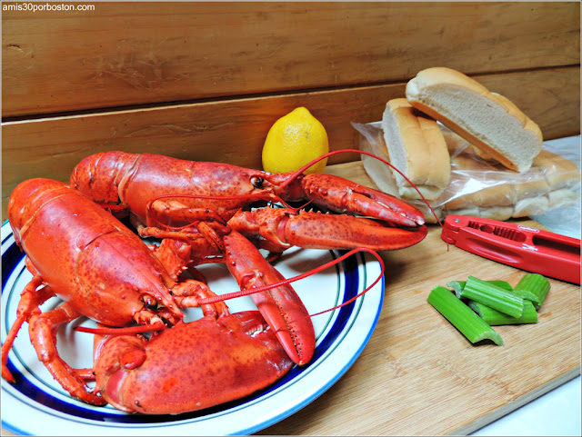 Ingredientes para Elaborar Lobster Rolls