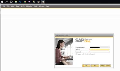 Error de certificado al ejecutar SAP B1