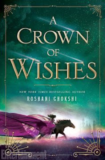 A Crown of Wishes by Roshani Chokshi book cover