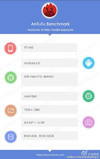 Điện thoại Motorola Moto M