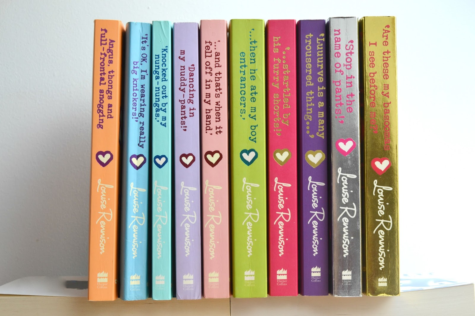 The Georgia Nicolson Series by Louise Rennison