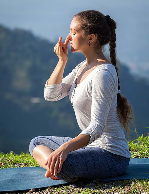 Best Exercises To Do To Reduce Stress And Anxiety - Alternate Nostril Breathing