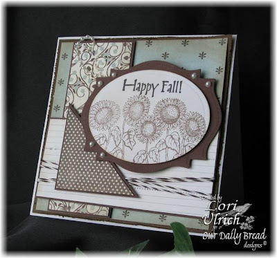 Our Daily Bread designs Happy Fall Harvest Blessings Designer Lori Ulrich
