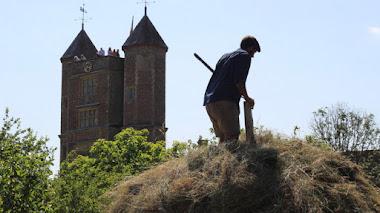 Los jardineros de Sissinghurst Castle y la pradera de Vita