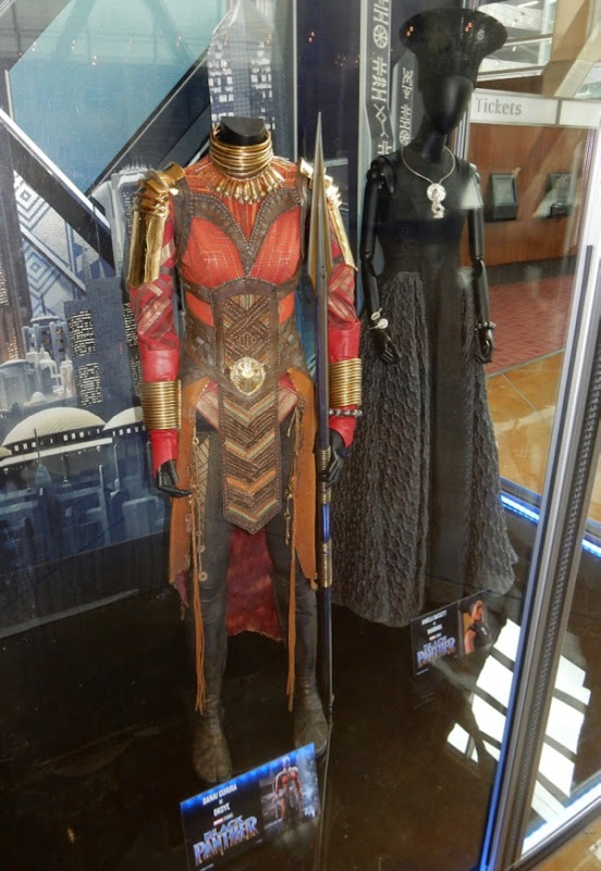Black Panther movie costumes