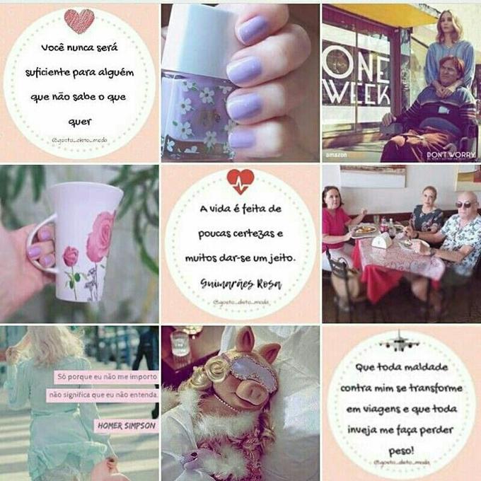 As melhores frases do instagram Gosto Disto