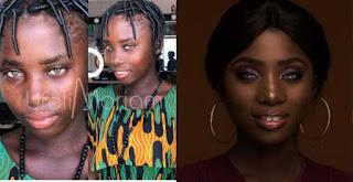 Makeup Artist Transforms Groundnut Seller Into A Beautiful Lady (Photos)