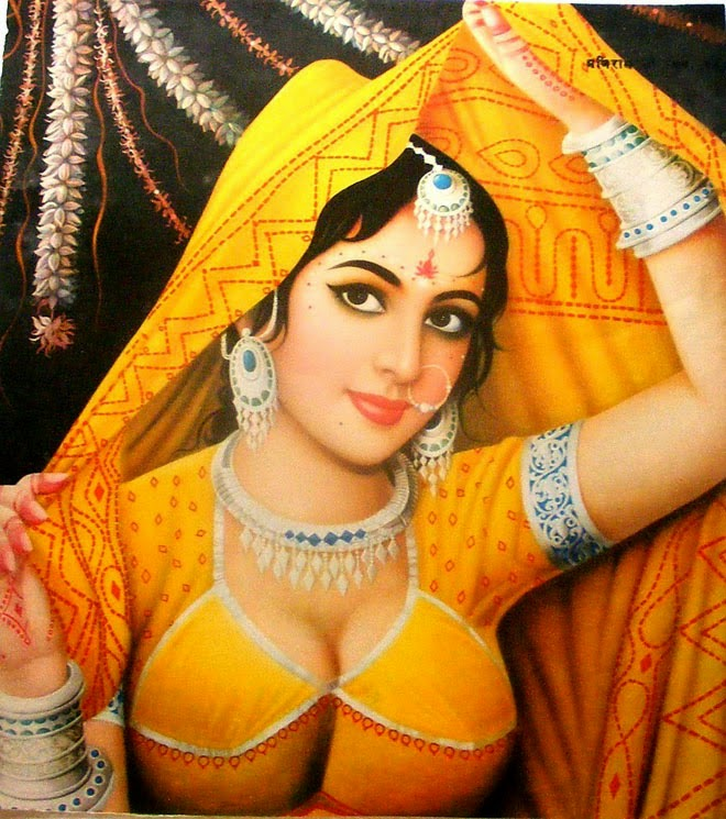 22 Most Beautiful Indian Oil Paintings
