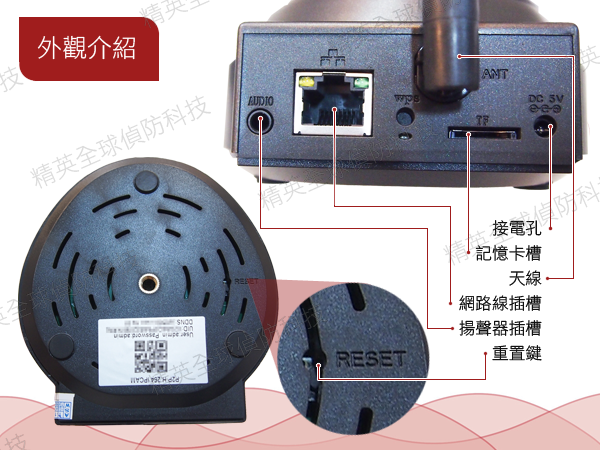 IP CAMERA 有線/無線網路攝影機 監視器 夜視 紅外線 遠端控制 ~ 精英全球偵防科技