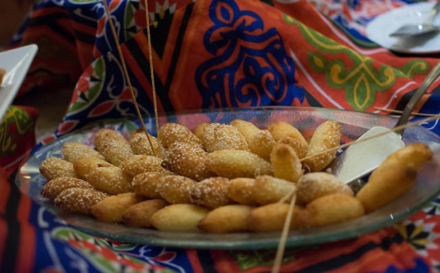 Fried sweet dough from Egypt