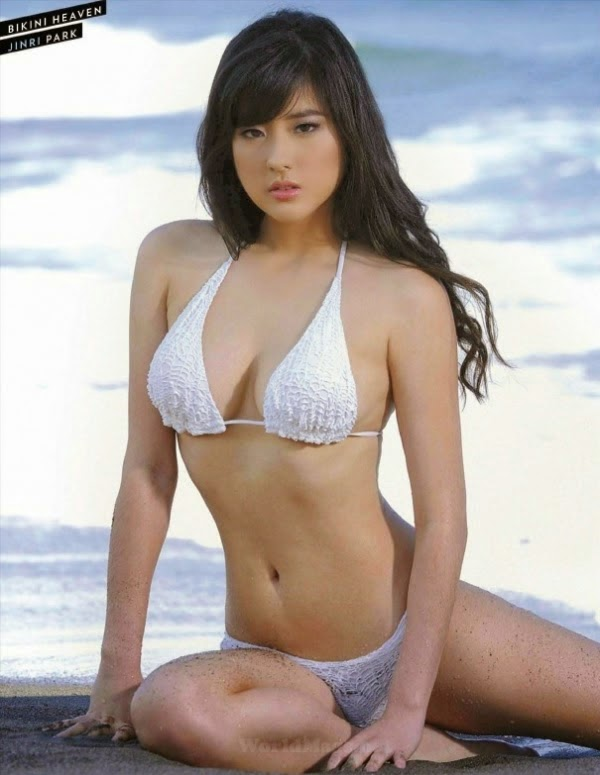 Philippines Models Gallery Jinri Park In White At Fhm -5410