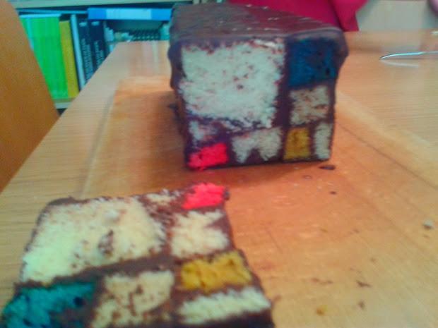 Marramiau Recetas Mondrian Cake - Modern Arts Desserts